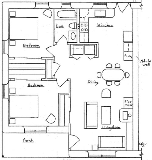 30X30 Home Floor Plans http://dreamgreenhomes.com/plans/duplex.htm