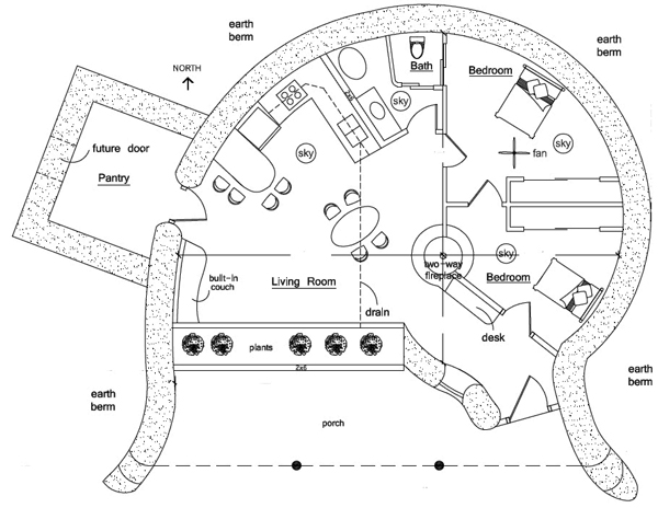 Remarkable Hobbit House Floor Plans 600 x 464 · 139 kB · jpeg